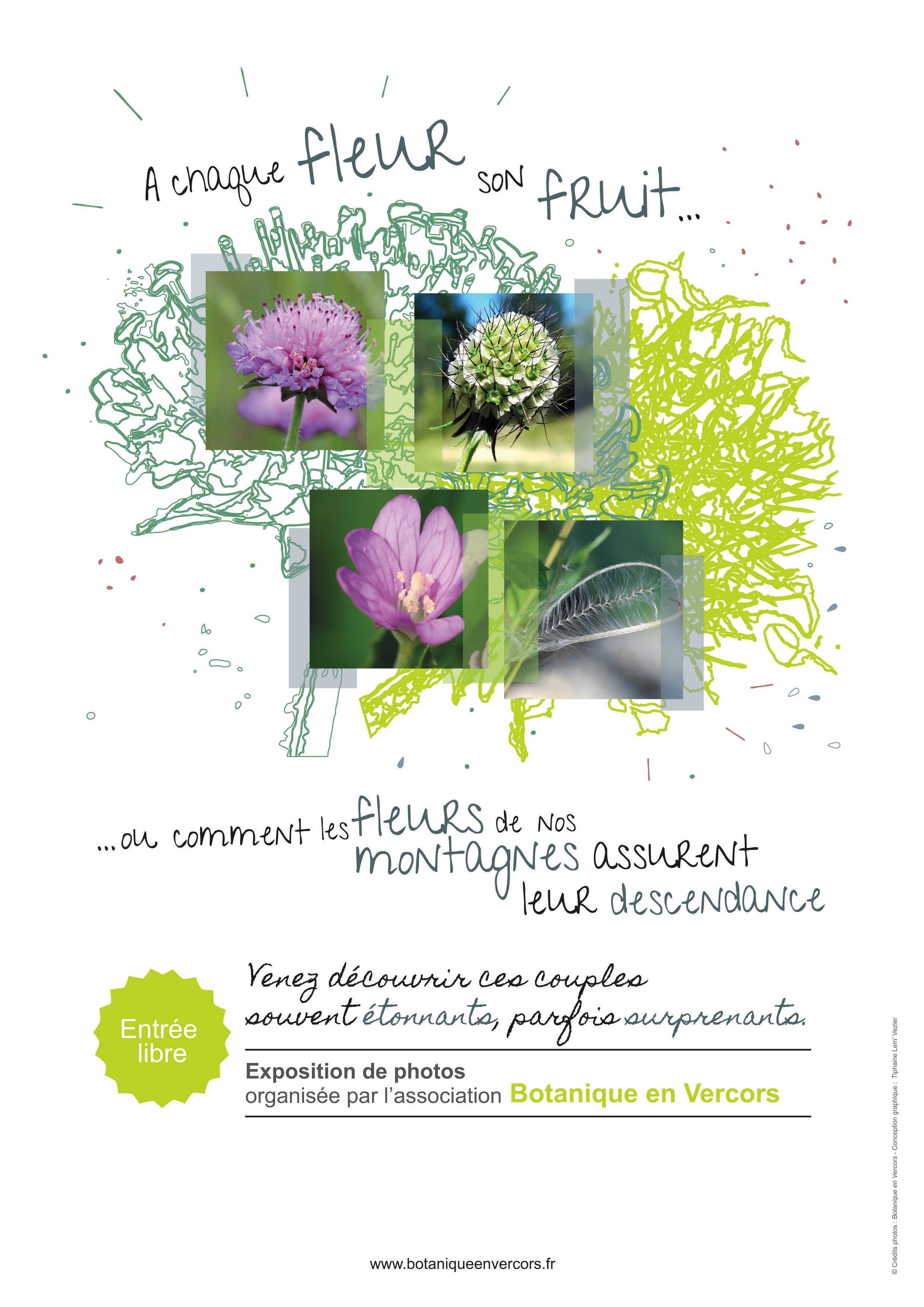 """Exposition """"Fleurs et fruits"""" @ Agopop, Maison des habitants"""