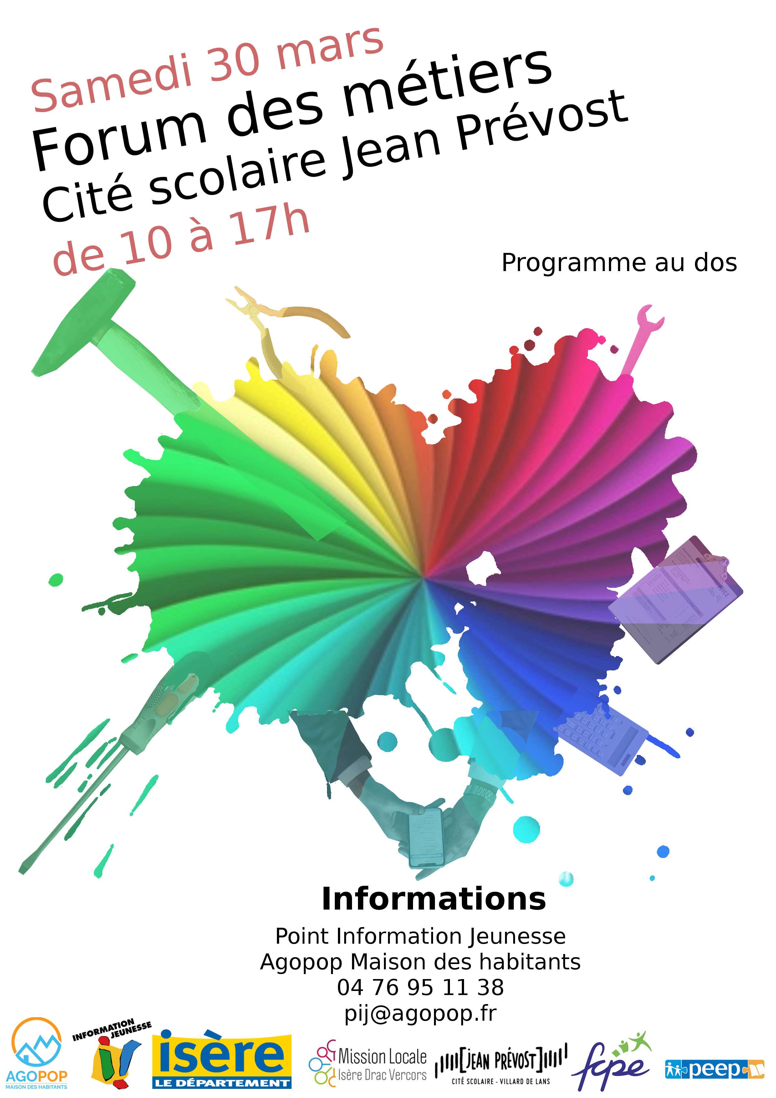 Forum des métiers @ Cité scolaire Jean Prevost