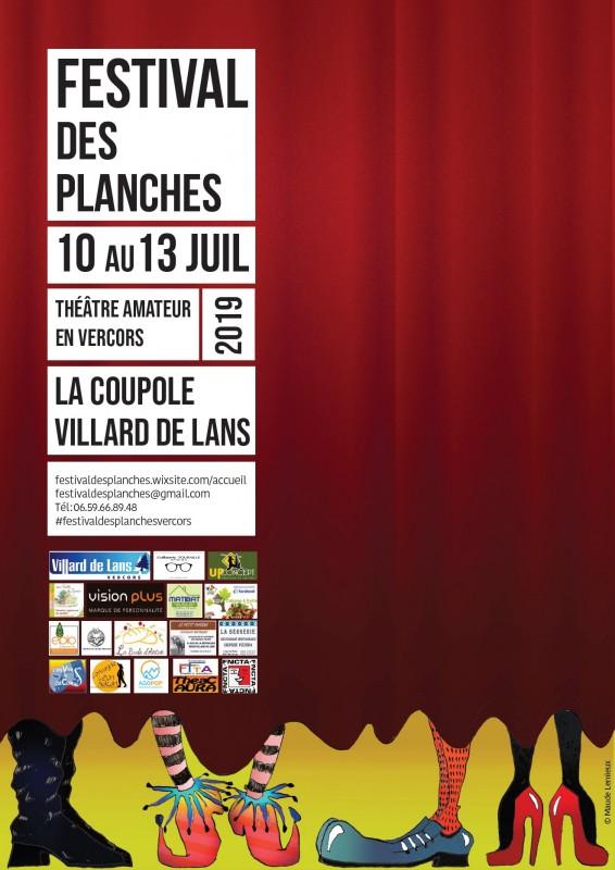 Festival des planches @ La coupole - Villard de lans