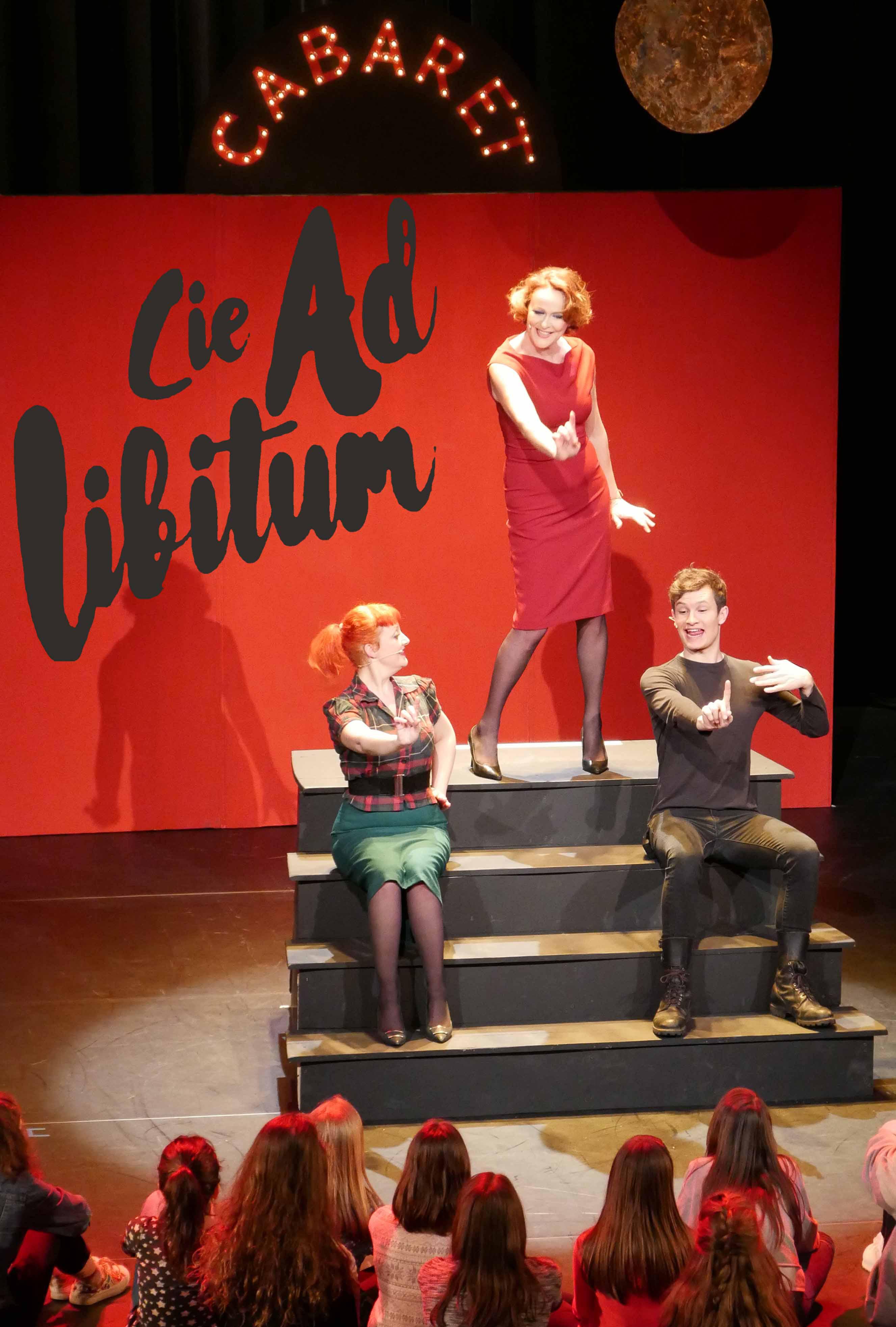 """Cabaret """"Tour de Chant"""" par la Cie Ad Libitum - Concert Vendredi 29 Novembre à l'Agopop"""