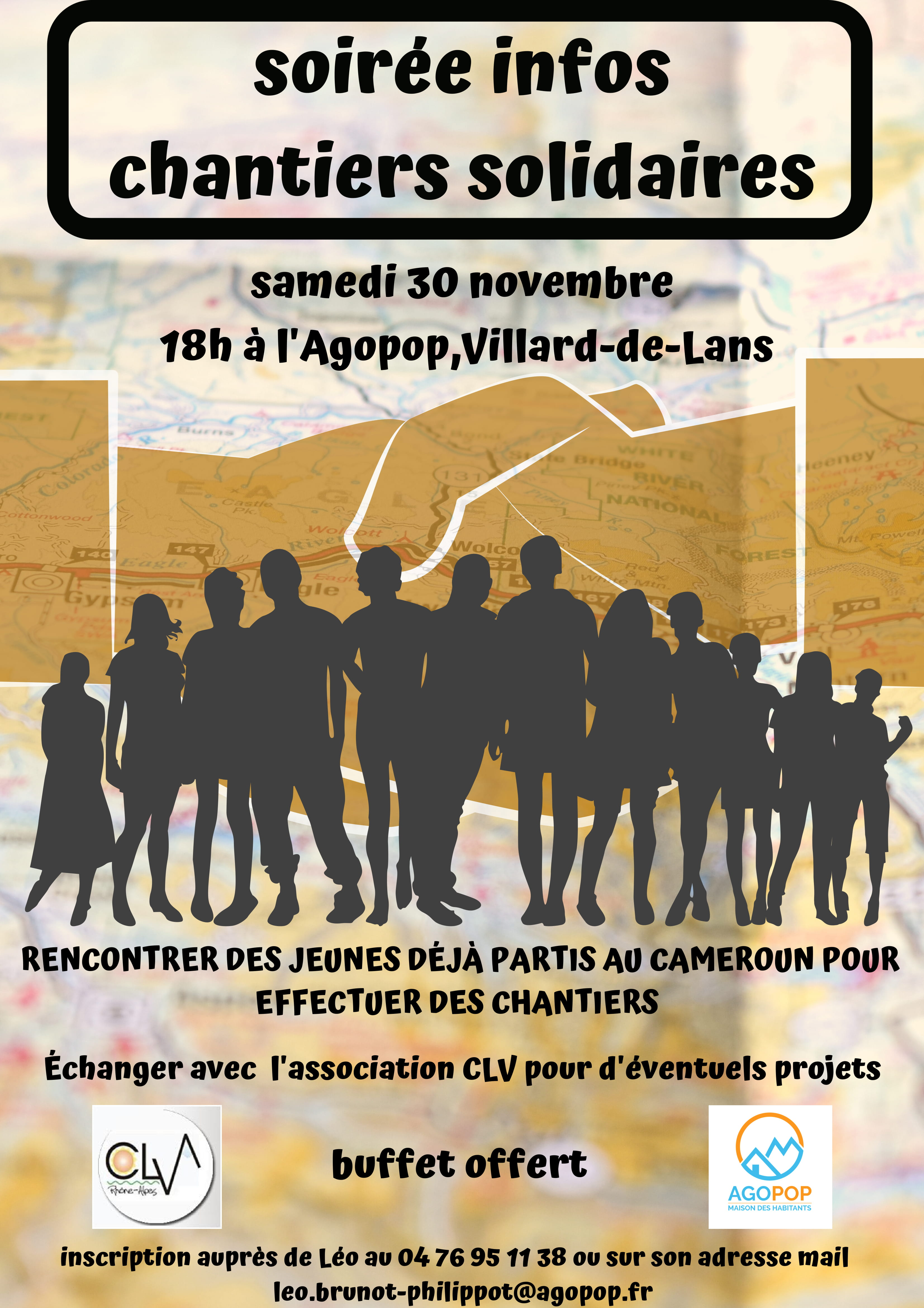 Soirée Chantiers Solidaires : rencontrer les jeunes qui sont partis, préparer son projet