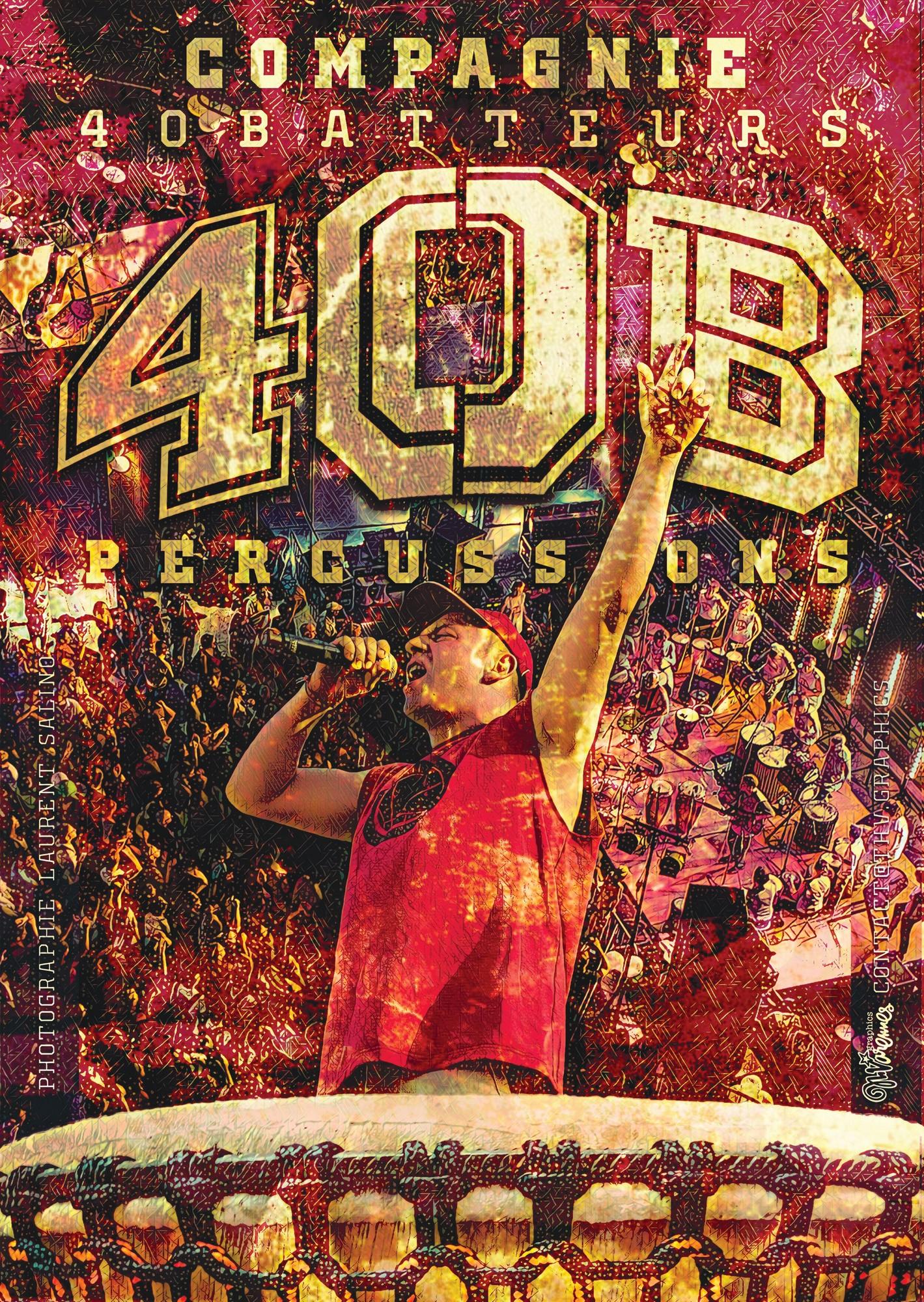 Les 40 Bis du Vercors : ateliers percussions et concert avec les 40 Batteurs