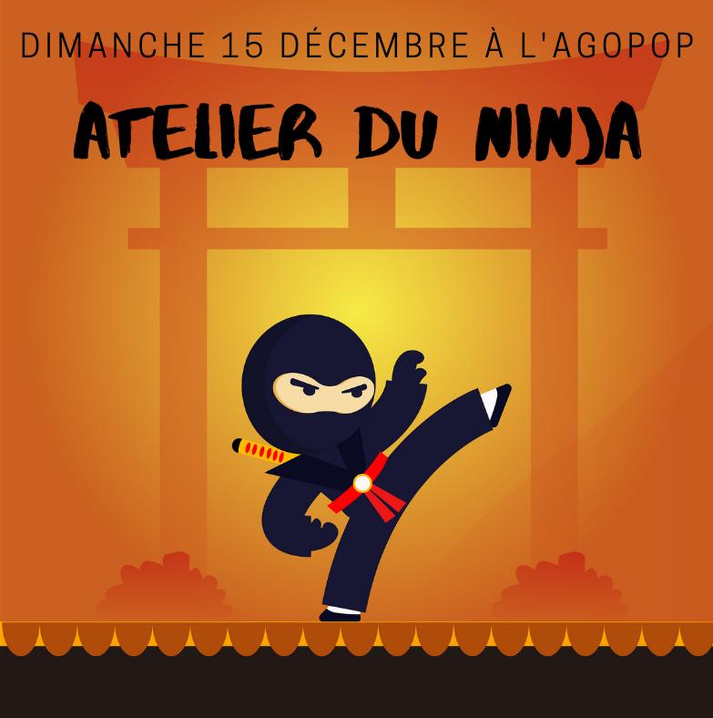 Atelier du Ninja @ Agopop, Maison des Habitants