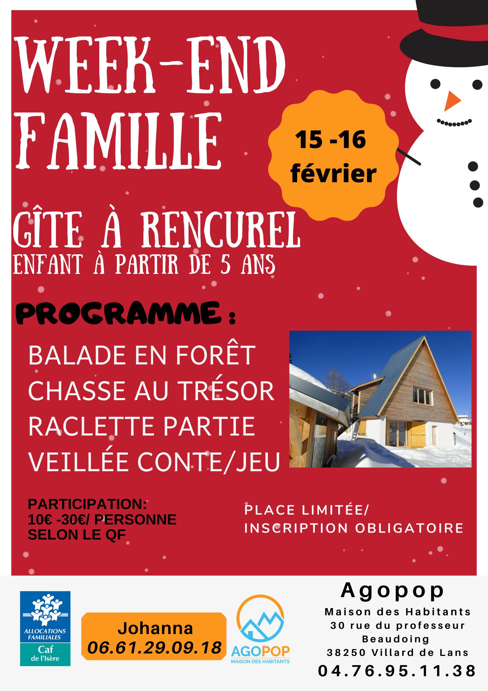 Week-end en famille dans les Coulmes, à Rencurel @ Rencurel, les Coulmes