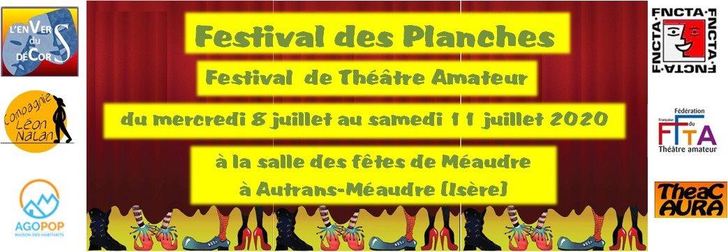 Festival des Planches 2020 @ Salle des Fêtes de Méaudre