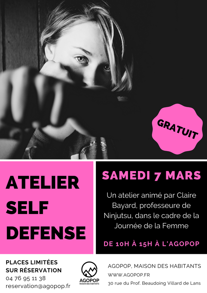 Atelier Self Defense @ Agopop, Maison des Habitants
