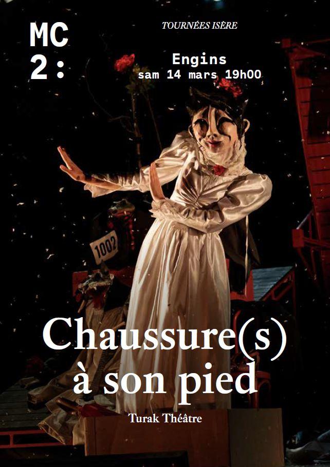 ANNULE // Chaussure(s) à son pied : une pièce de théâtre à voir à Engins