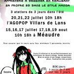 Ateliers Manga : cet été apprenez à dessiner votre BD