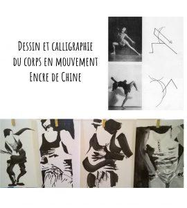 Stage dessin et calligraphie à l'encre de Chine @ Agopop, Maison des Habitants