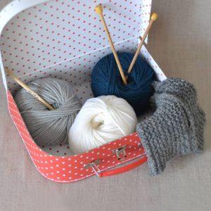 DIY : atelier tricot @ Agopop, Maison des Habitants