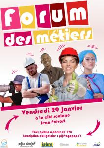 REPORTE Forum des Métiers @ Cité Scolaire Jean Prévost Villard de Lans