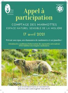 Sortie comptage de marmottes @ ENS La Molière, Autrans