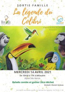 """Sortie famille : balade contée """"la légende du colibri"""" @ Les Narces, Méaudre"""