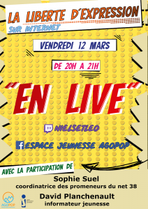 Live : la liberté d'expression sur Internet @ Facebook & Twitch