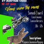 Animation jeunesse : initiation fond vert et montage vidéo