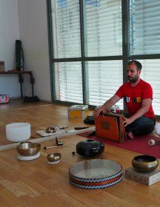 Atelier musique intuitive et vibration sonore @ Agopop, Maison des Habitants