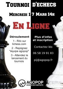 Tournoi d'échecs en ligne @ En ligne