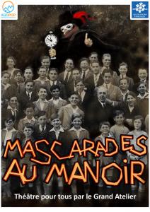 """Grand Atelier : """"Mascarades au manoir"""" @ Méaudre, salle des fêtes"""