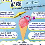 Le programme d'été de l'Espace Jeunesse est là !