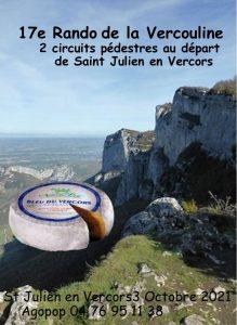 Vercouline : la randonnée gourmande @ Saint Julien en Vercors